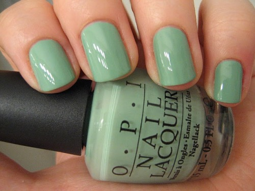 fuckyeahprettynails:  OPI Mermaid's Tears (via dizzynails)  OH.MY.GOD. I need to buy this color ASAP!