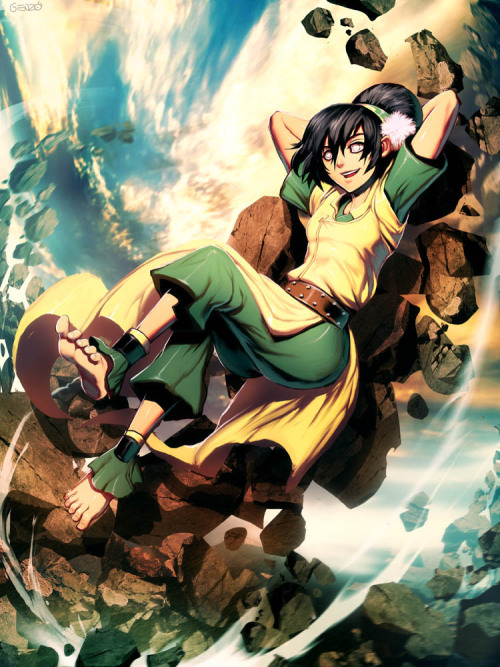 toph-appreciation-blog:  Look at all  the fucks she gives…