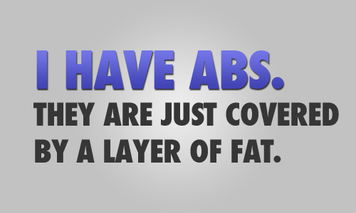 danceuntilfit:  And you just wait, that layer will get thinner and thinner. Booom!