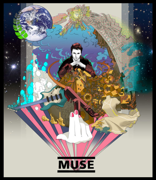 "jubycomics:  ""Muse"" by 五十嵐 …Okay, this is pretty bad ass."