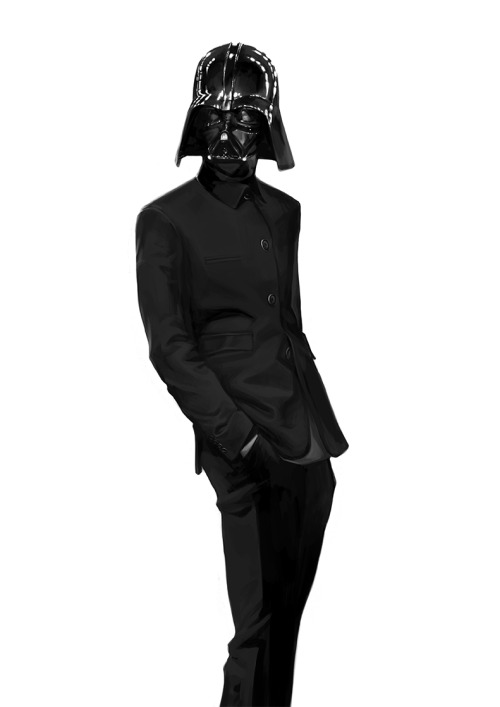 The Sith Lord Wears Prada | {artist pending — via DeviantArt} » I've been searching for the artist on this piece, but there are a lot of Darth Vader pieces on dA to sort through. I'll edit this entry when I find it. [via nerdpride]