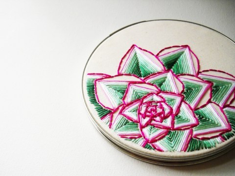 Beautiful embroidery!! (via Succulence « What. No Mints?)