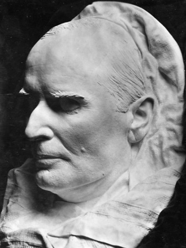 President William McKinley's death mask by DC Public Library Commons on Flickr:  William McKinley (January 29, 1843 - September 14, 1901) was the 25th President of the United States. He was elected twice, in 1896 and 1900, but was assassinated in 1901 at the Pan-American Exposition in Buffalo, New York. He fought the Spanish-American War to liberate Cuba, and afterwards annexed the Philippines and Puerto Rico, as well as Hawaii. He promoted high tariffs as a formula for prosperity, helped rebuild the Republican party in 1896 by introducing new campaign techniques, and presided over a return to prosperity after the Panic of 1893. He was succeeded by his Vice President, Theodore Roosevelt.