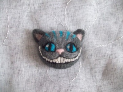 """Cheshire Cat"" Pin by novembrin"