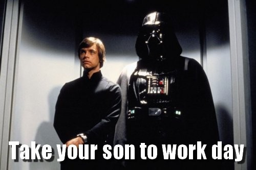 fuckyeahdementia:  take your son to work day
