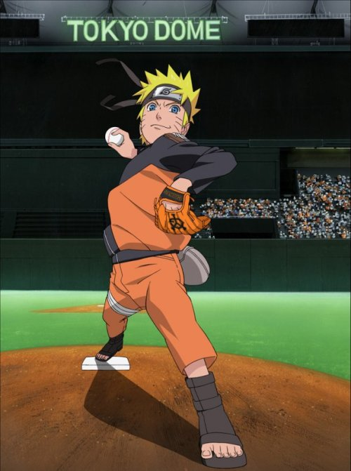 "tokyootakumode:  ""Naruto plays baseball? Naruto-Giants baseball tickets will be on sale. To celebrate the debut of the movie """"Naruto- Blood Prince"""", it will collaborate with Yomiuri Giants. """"Naruto Sheet"""" that comes with limited cell phone strap figure will be on sale for the Giants games against Yokohama in Tokyo Dome, between 26th Jul. and 28th Jul. For each day, 10,000 """"Naruto-Giants""""poster will be handed out. On 27th.Jul., Naruto will come to the stadium and cheer up the game. """