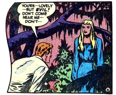 comicallyvintage:  You're Lovely…. But Evil!