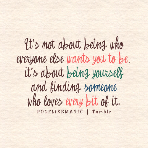 being yourself quotes for girls - photo #11