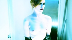 fuckyeahhotactress:  Evan Rachel Wood by Marilyn Manson