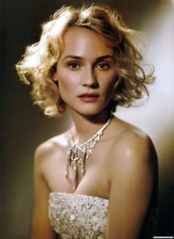 "thecoutureatelier:    ""Individuallure"" with Diane Kruger Vogue Italia March 2009 Photographed by Mark Seliger Diane wears Chanel Couture."