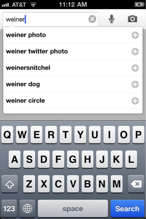 This makes me kinda sad (but I'm laughing a little bit, too). #Weiner