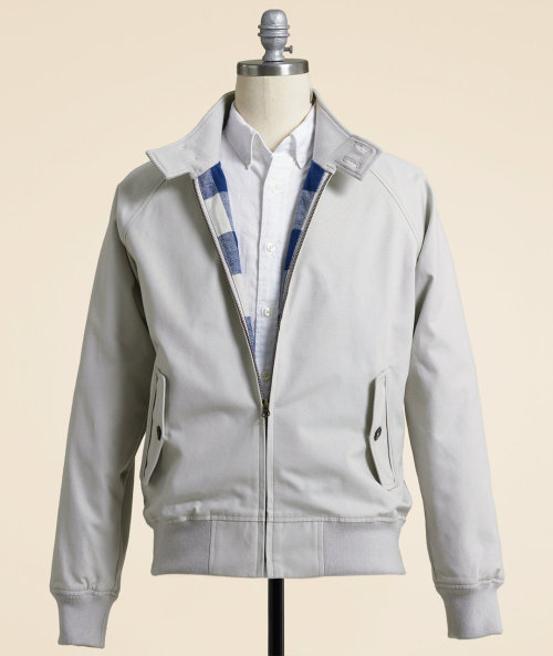 LL Bean Signature Canvas Jacket A not half bad interpretation of the iconic Baracuta G9 Harrington Jacket