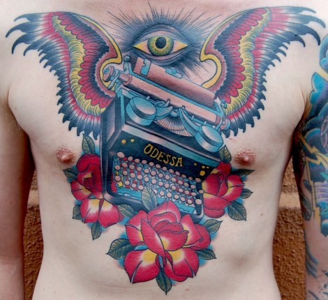 tattoosforpassionnotfashion:  done by peter lagergren