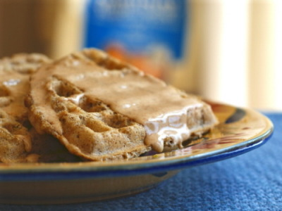 GF flour mix recipe-great in anything-like these waffles!