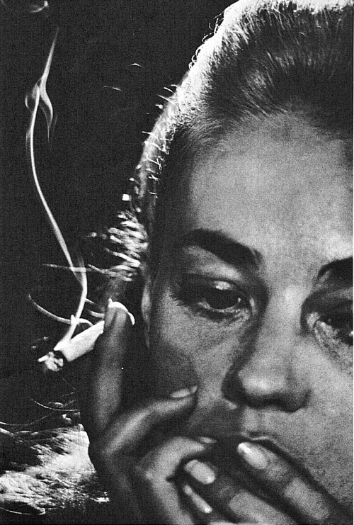 Jeanne Moreau (French, B. 1928) Photo by David Bailey