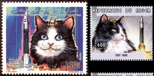 "i looked up ""outer space cat stamps"""