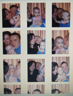 Home made photobooth.
