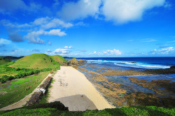 Seger Beach - South Coast Lombok | NTB - Indonesia postcard (by …alita…)