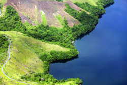 Shoreline of Lake Sentani  | Papua - Indonesia By: Michael Thirnbeck