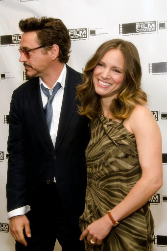 robertandlittled:  Robert Downey, Jr. and wife Susan Downey at the Gene Siskel Film Center of the School of the Art Institute presents  the Renaissance Award to Jamie Foxx, held at The Ritz-Carlton Hotel  - 04.06.11