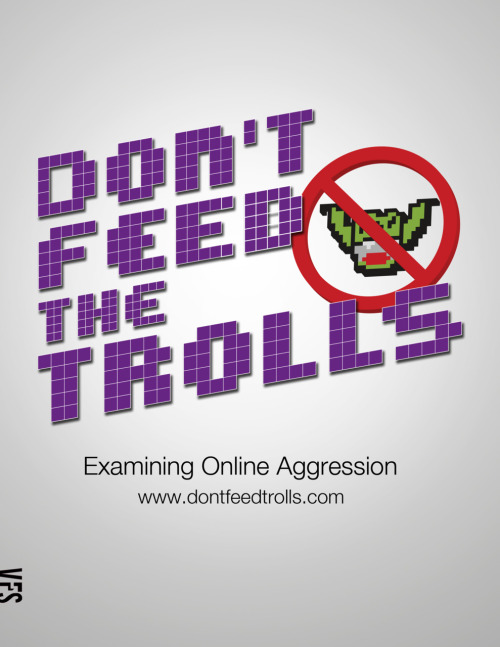 Don't Feed the Trolls New poster design of my documentary thanks to designer Mike Uriegas. Special thanks to him and to all my lovely crew for their amazing work! Peyeye