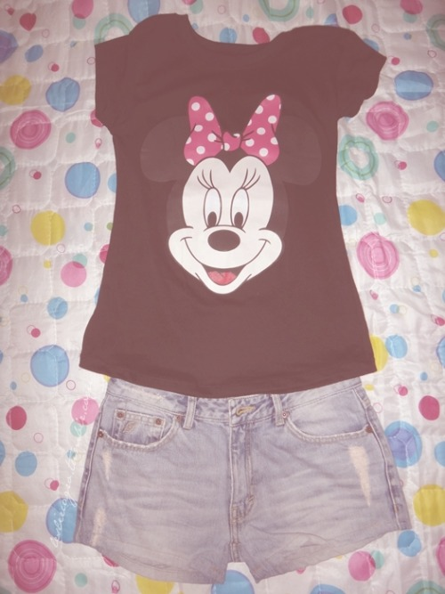 Because I love Disney and Minnie :)