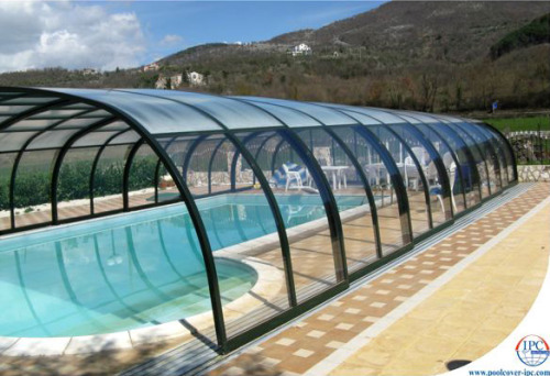 ardose:  Telescopic Pool Enclosures - amazing enclosure designs by Czech IPC Team