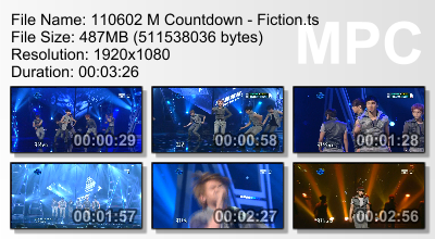 110602 Mcountdown Fiction  .001 .002 .003 .004 .005 CR: 로열패밀리@bestiz + Yui@beastdownloads.tumblr.com
