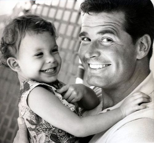 James Garner with daughter Gigi
