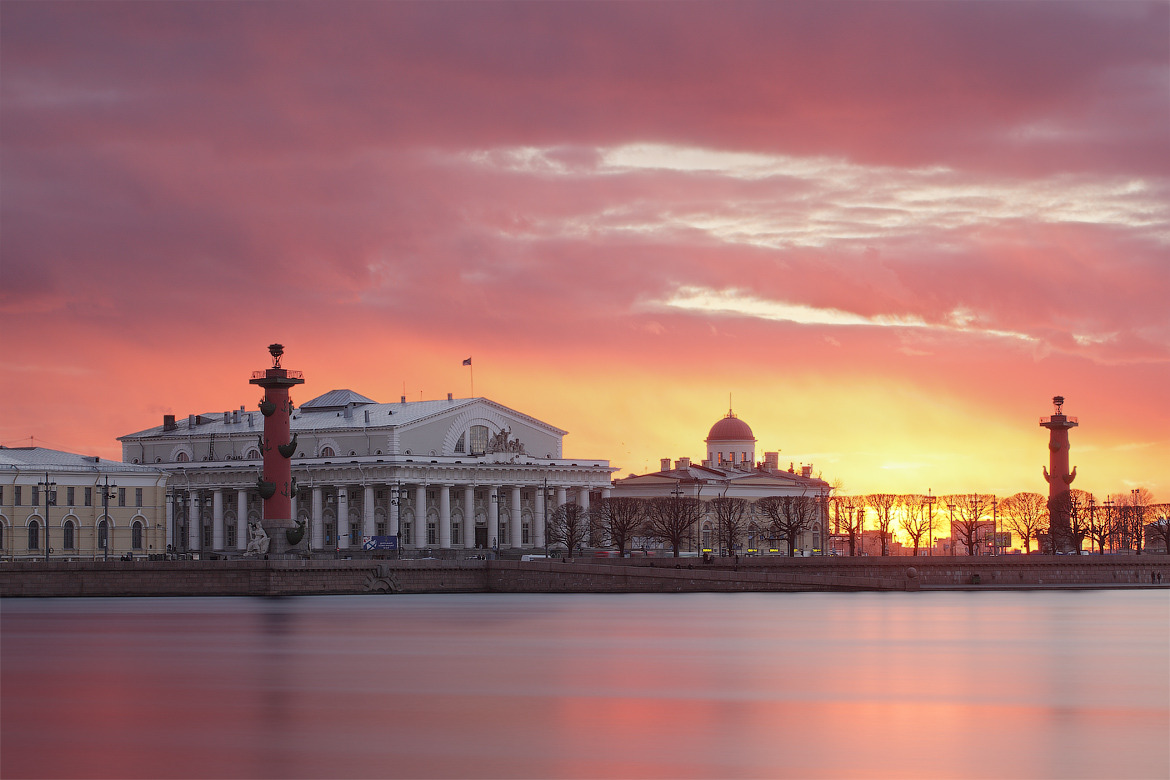 Sunrise. St Petersburg, Russia via AlexDarkside