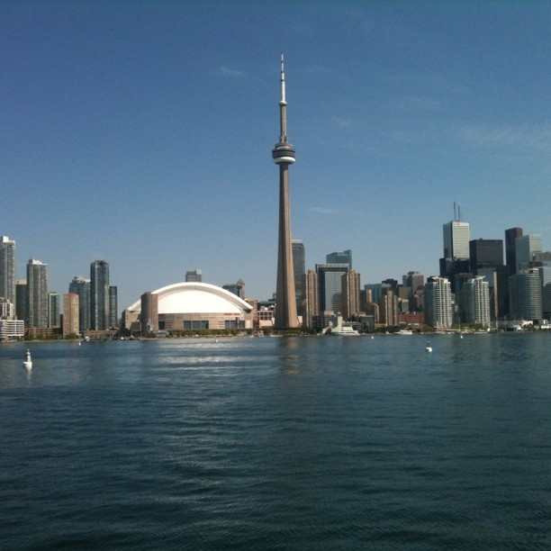 You forget sometimes that Toronto is on the water. #yyz (Taken with instagram)