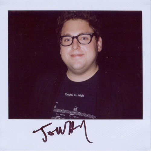 Love Jonah Hill's frames! He just looks adorable :) I found some great frames like his at Eyesave! portroids:  Jonah Hill - Because of Superbad and Forgetting Sarah Marshall and Funny People and the upcoming 21 Jump Street movie.