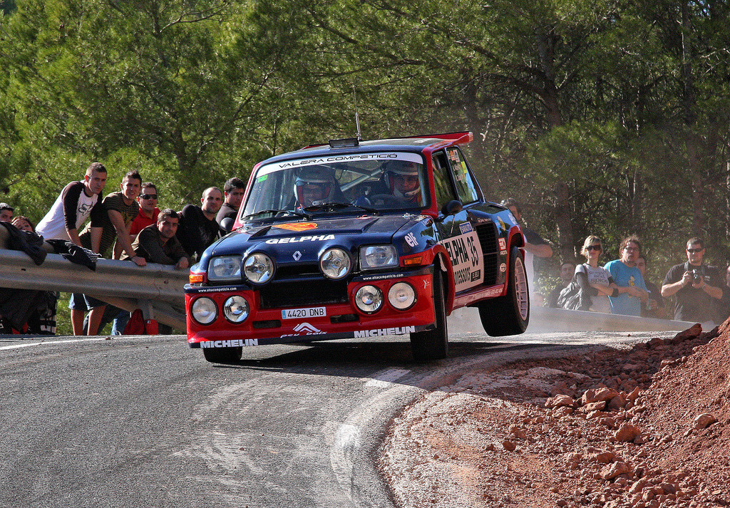 Rrrrr! by Coses que passen Renault 5 Turbo Rally Location: Costa Rica