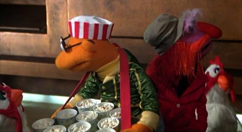 """Popcorn, Huhn?"""