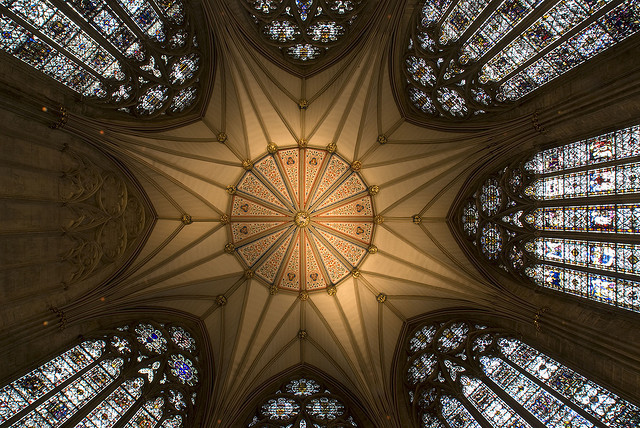 Chapter House Ceiling by stevewright tn1 on Flickr.
