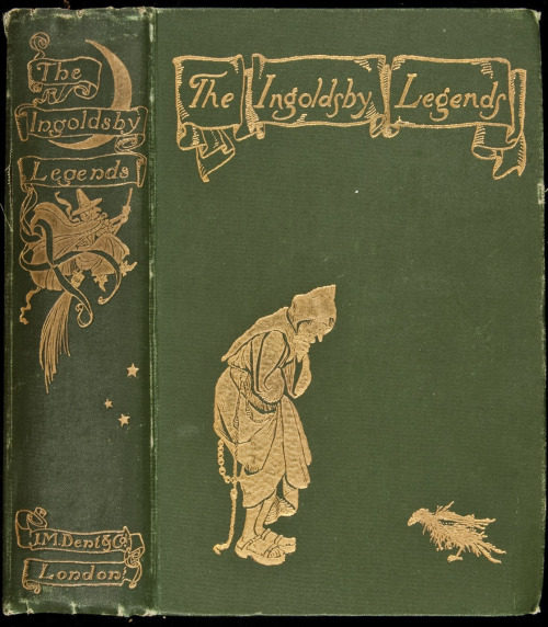 The Ingoldsby Legends   Or, Mirth & Marvels. Ingoldsby, Thomas [pseud of Richard Barham].  Illustrated by Arthur Rackham. London, J.M. Dent, 1898.  B-A Note:  Finally, the book from which came this amazing illustration!  Although the dates don't quite match up - hmmm.