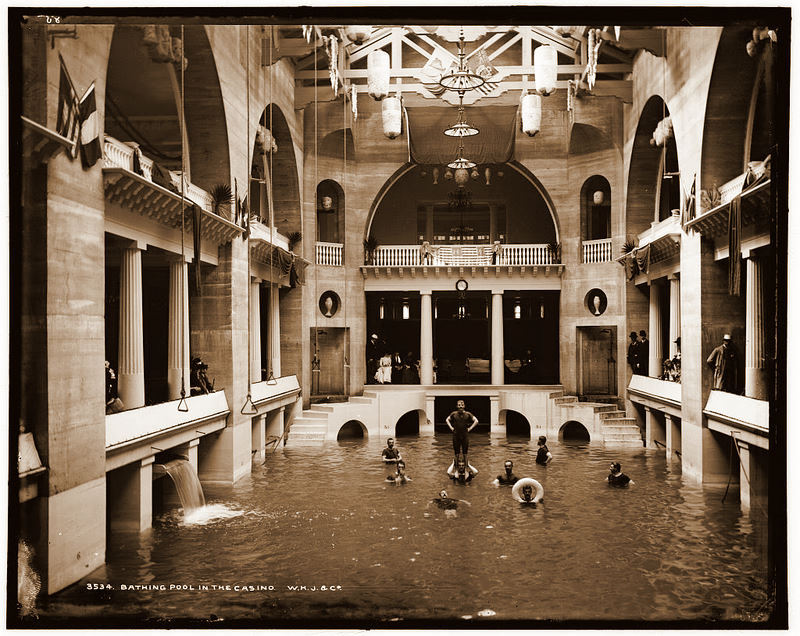 1880-1897: Bathing Pool in the Casino