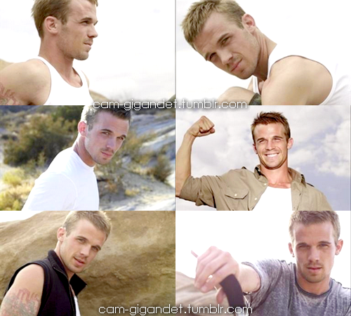 Cam Gigandet Photoshoot Collage (Edited by ME, Cam Gigandet Fansite)