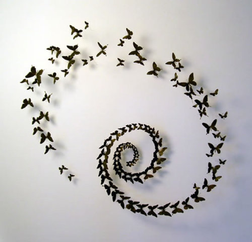 gaksdesigns:  Butterflies made from Trashed Beer Cans by Paul Villinki  words cannot express how much i love this
