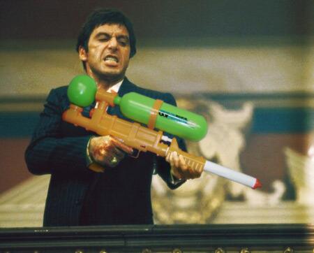 tumblr lmciz2hopO1qbqqbp Guns in Movies Replaced with Nintendo Zappers