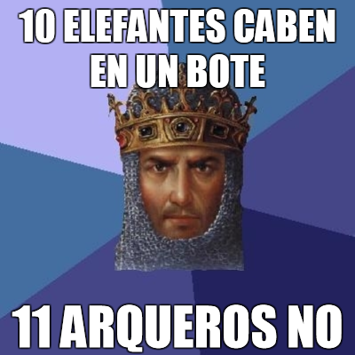 Age of Empires y sus absurdeces.