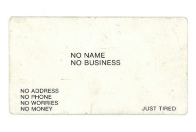 a very informative business card :)