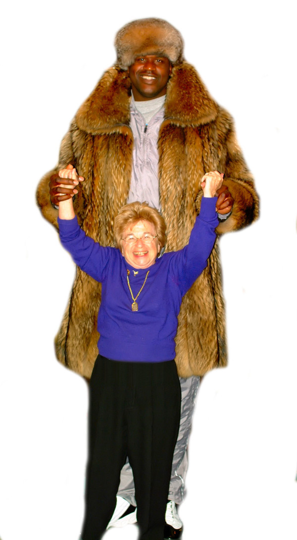 Shaquille O'Neal and Dr. Ruth (submitted by  lucaluca)
