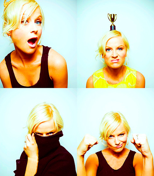 "demova:  LADIES I LOVE //  Amy Poehler ""Amy is our team captain — it's like having Michael Jordan, if he was a sunshine-filled blonde lady."" - Nick Offerman ""From the moment we met, it was the greatest thing that ever happened to me. Probably the best thing that's ever happened to me is Amy."" - Will Arnett ""It's just about honoring the fact that, yeah, I should be writing, producing, directing. I should be believing that the world is mine to have."" - Amy Poehler ""When people say 'women aren't funny,' to me it just feels like they're saying, 'the earth is flat.'"" - Amy Poehler"