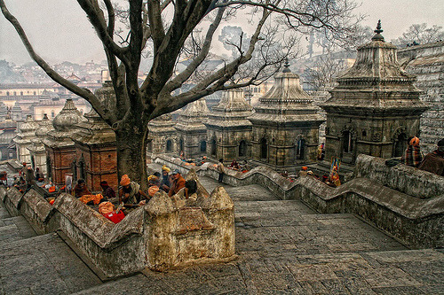 Pashupatinath's Maha Shivatri's festival (by Photoma's World)