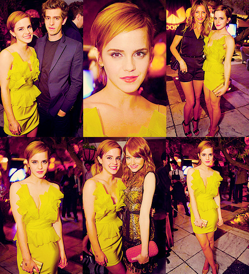 ~ Emma Watson @ MTV Movie Awards after party 2011