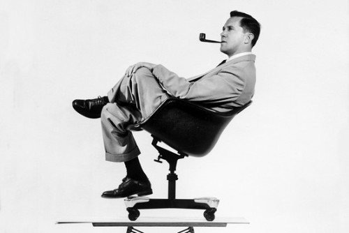 "CHARLES EAMES ""The details are not the details. They make the design."" ""Who ever said that pleasure wasn't functional?"" ""The recognition and understanding of the need was the  primary condition of the creative act. When people feel they had to  express themselves for originality for its own sake, that tends not to  be creativity. Only when you get into the problem and the problem  becomes clear, can creativity take over."" ""Art resides in the quality of doing, process is not magic."" ""Design is a plan for arranging elements in such a way as best to accomplish a particular purpose."""