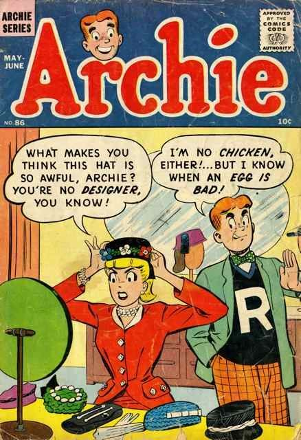 Look at yourself, Archie. You really shouldn't be giving fashion advice.