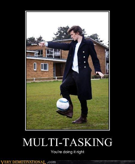 Multi-Tasking boomboomk9000:  Caption Credit: solar-tsunami