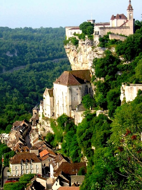| ♕ |  Rocamadour - Dordogne, France  | by fougeyrollas  Friends vacationed here and said it was incredible.
